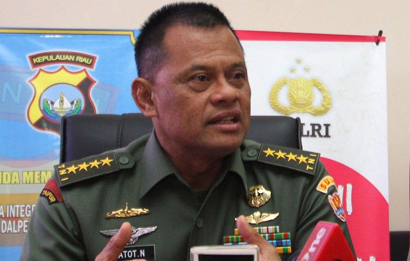 Giliran Panglima TNI Gatot Nurmantyo Usut Jendral Bintang 2 Yang Bekingi Freddy Budiman!