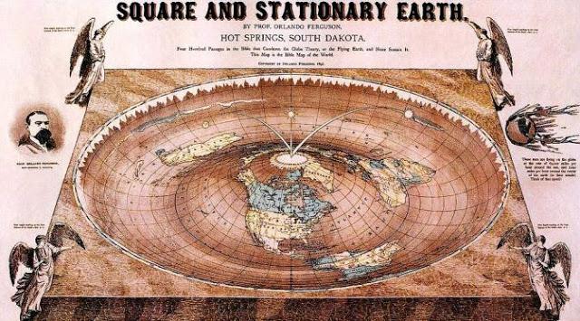 Terbongkar! Bentuk Bumi Sebenarnya Bukan Bulat, Tapi Datar. Ini Buktinya